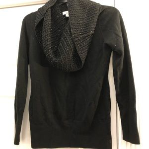 New York & co sweater black size s